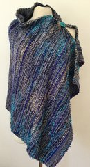 Handwoven Poncho-Wrap 005 SOLD OUT.