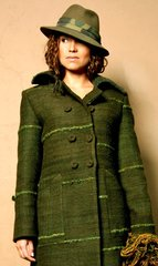 JACKET. Handwoven wool jacket 002. Custom made