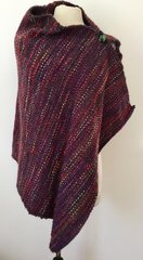 Handwoven Poncho-Wrap 004. SOLD OUT