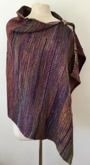 Handwoven Poncho-Wrap 002. SOLD-OUT