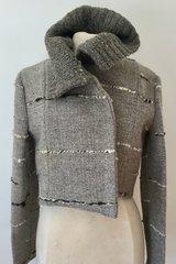 JACKET. Handwoven Wool Jacket 006
