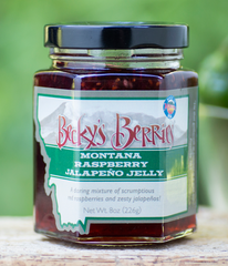 Raspberry Jalapeno Jelly 8oz