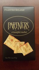 Partners Toasted Sesame Crackers