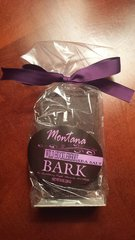 Huckleberry Sea Salt Dark Chocolate Bark