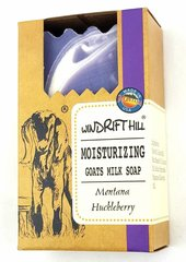 Windrift Hill Montana Huckleberry Goats Milk Soap