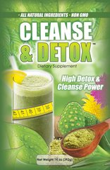 High Detox and Cleanse Power - 6 x 14 oz POWDER