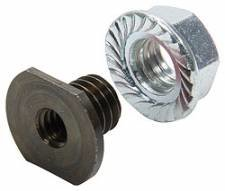 "Allstar Performance Steel Threaded Nut Insert - 1/4""-20 2pk"