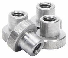 "Allstar Performance Weld-On Nut 3/8""-16 x 3/8"" UHL 4pk"