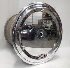 "Weld Wide 5 XL Aluminum Beadlock Wheel w/ Cover- 15"" x 14"" - 5"" Back Spacing"