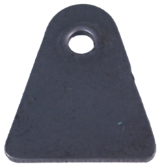 """Rapid Ron's Racing Body TAB 1/4"""" hole x 1/8"""" thick"""