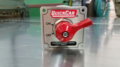 QuickCar Master Disconnect Switch - Solid Silver Plate