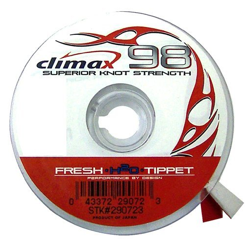Climax 98 tippett 7x 2 2 lb weaver 39 s online tackle store for Fish usa coupon code