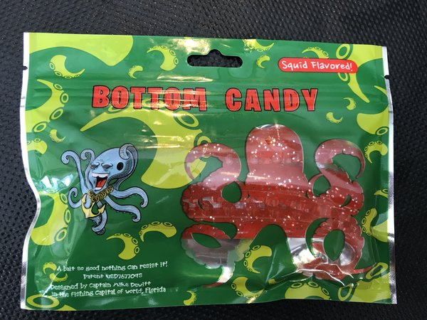 """3"""" Unrigged Pink/ Bubble Gum (8 Pack) Bottom Candy Tentacles"""