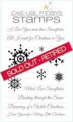 *Must Love Snowflakes* -SOLD OUT - RETIRED