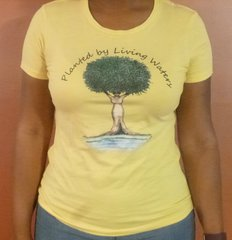 Planted by Living Waters Natural Hair T-Shirt