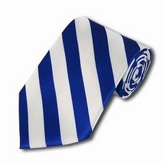 C-15 | Royal Blue and White College Stripe