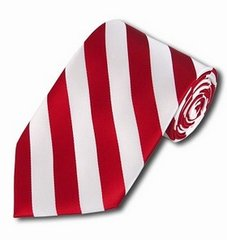 C-14   Red and White College Stripe