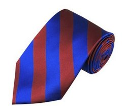 C-06 | Burgundy and Royal Blue College Stripe
