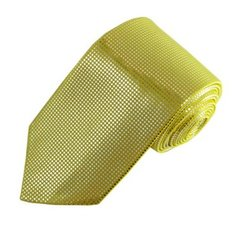 MT-06 | Metallic Baby Yellow Tie