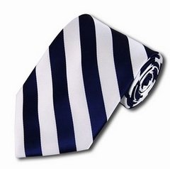 C-13 | Navy and White College Stripe