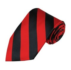 C-03 | Black and Red College Stripe