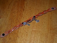 Hope Leather Bracelet