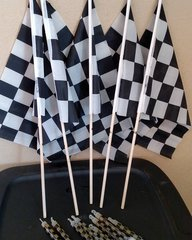 12 x 18 checker souvenir race flag