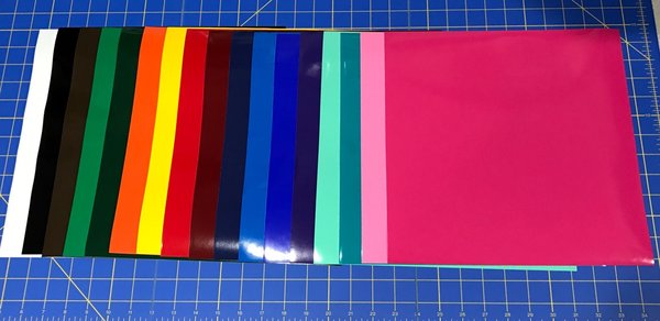 17 Starter Pack 12 Quot X 12 Quot Sheets Oracal 651 Vinyl Craft