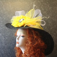 Black Eyed Susan Hat