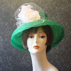 Green Church Hat