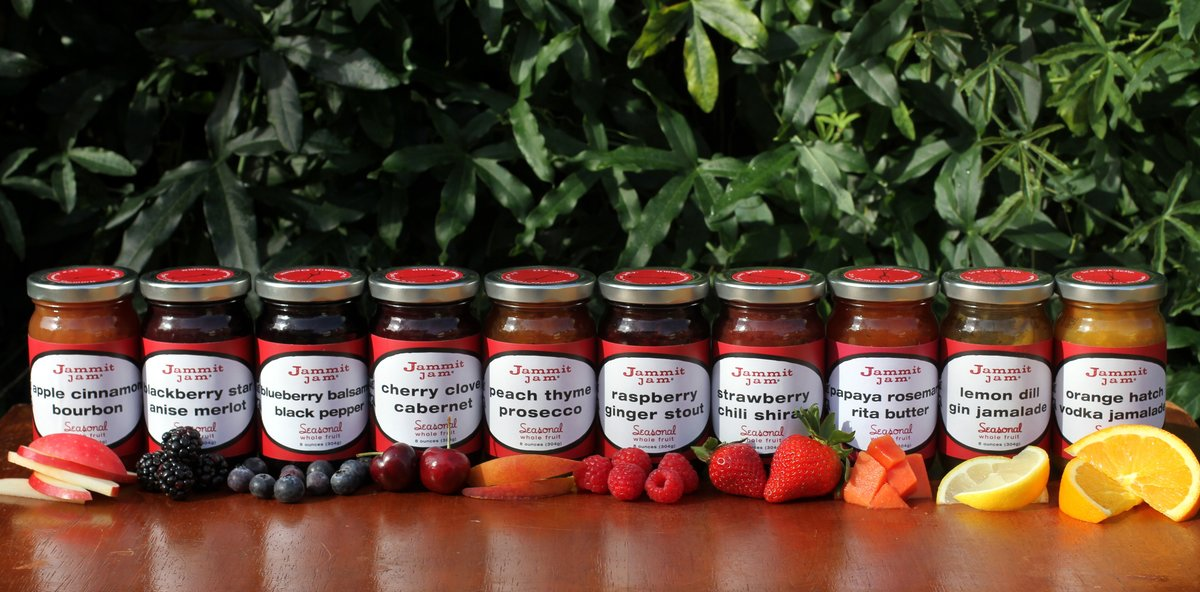 Jammit Jam, Jammit! Jam, Jammit, Dallas Jam, Whole-fruit jam,