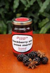 Blackberry Star Anise Merlot, 8 oz. jar