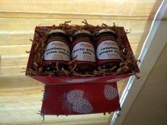 3-jar Holiday Gift Box (jam sold separately)