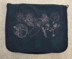 Rick and Morty Embroidered Messenger Bag