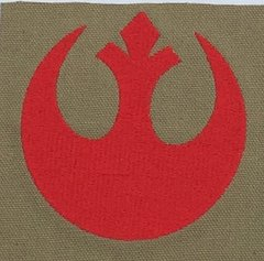 Rebel Alliance Embroidered Symbol