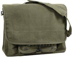 Rothco Vintage Canvas Paratrooper Bag (Olive)