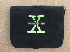 X-Files Embroidered Messenger Bag