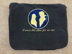 Labyrinth Embroidered Messenger Bag