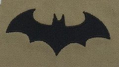 Arkham Batman Embroidered Symbol