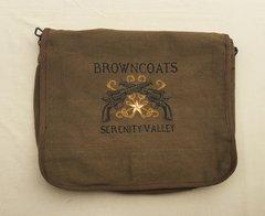 Browncoats Embroidered Messenger Bag