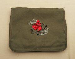Red Riding Hood Embroidered Messenger Bag