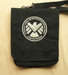 SHIELD Embroidered Tablet Bag