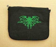 Cthulhu H.P. Lovecraft Embroidered Messenger Bag