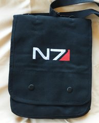 Mass Effect N7 Embroidered Tablet Bag