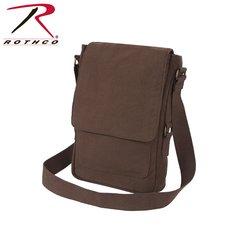Rothco Vintage Canvas Military Tech Bag (Brown)