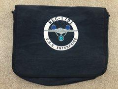 USS Enterprise Star Trek Embroidered Messenger Bag