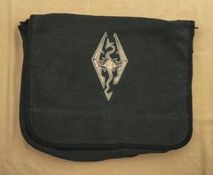 Skyrim Embroidered Messenger Bag