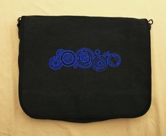 Doctor Who Gallifrey Embroidered Messenger Bag
