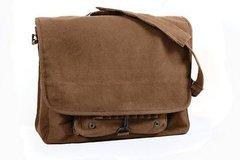 Rothco Vintage Canvas Paratrooper Bag (Brown)