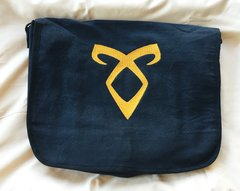 Mortal Instruments Angelic Rune Embroidered Messenger Bag